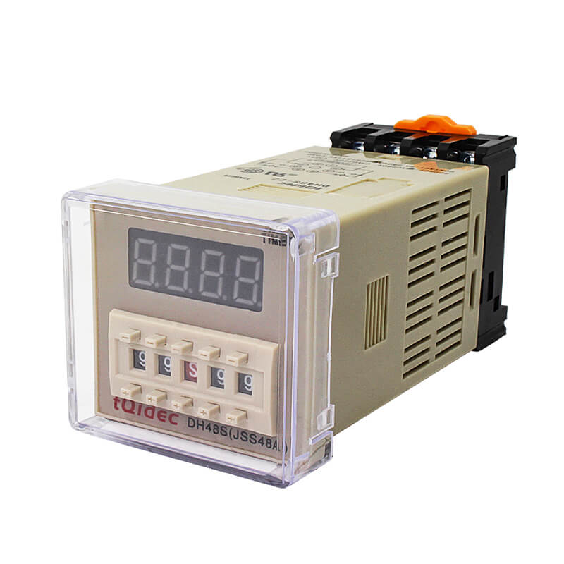 OEM manufacturer Intelligent Temperature Control Instrument - DH48S-2Z Digital Display Delay Time Relay – Taiquan Electric