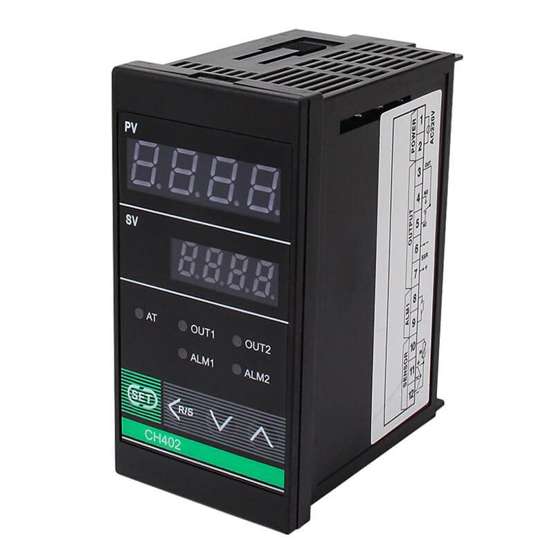 Reasonable price Digital Programmable Time Switch - CH402 Digital Display PID Intelligent Temperature Controller – Taiquan Electric