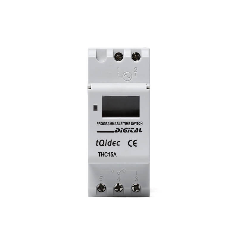 China OEM Digital Temperature Controller For Incubator - THC-15A DIN Rail Digital Weekly Programmable Timer – Taiquan Electric