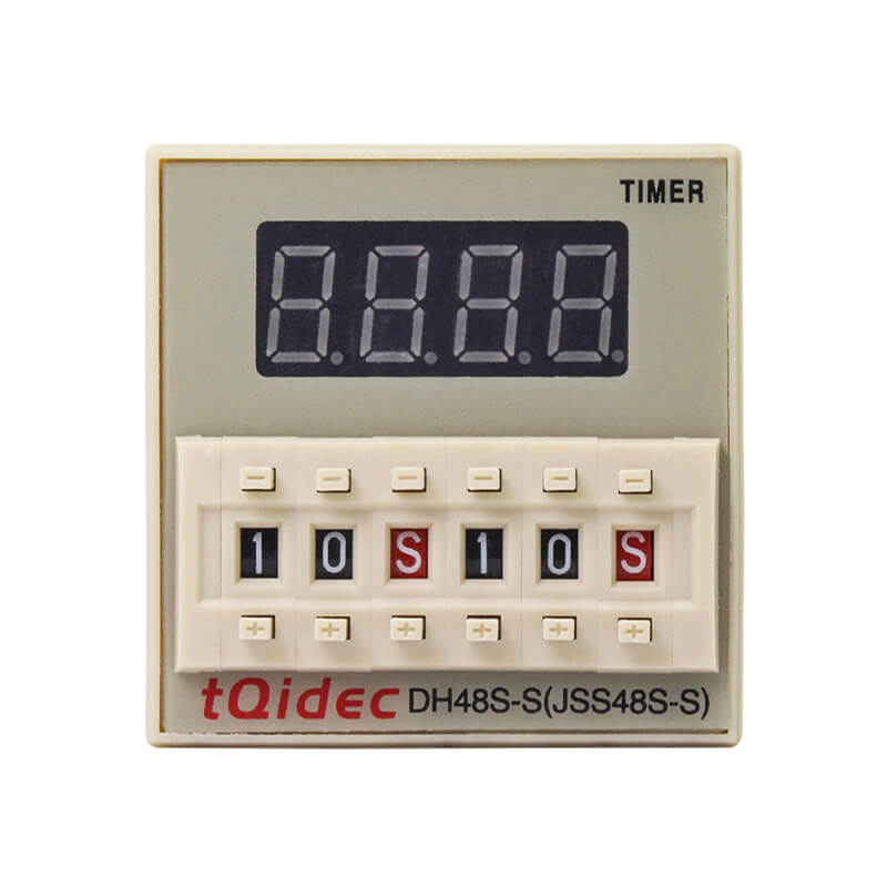 New Fashion Design for Digital Pid Temperature Regulator - DH48S-S Digital Display Delay Time Relay – Taiquan Electric