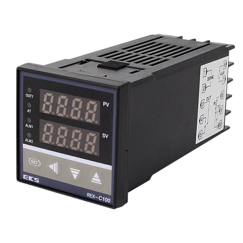 Manufacturing Companies for Solid State Relay With Cover - REX-C100 Digital Display PID Intelligent Temperature Controller – Taiquan Electric