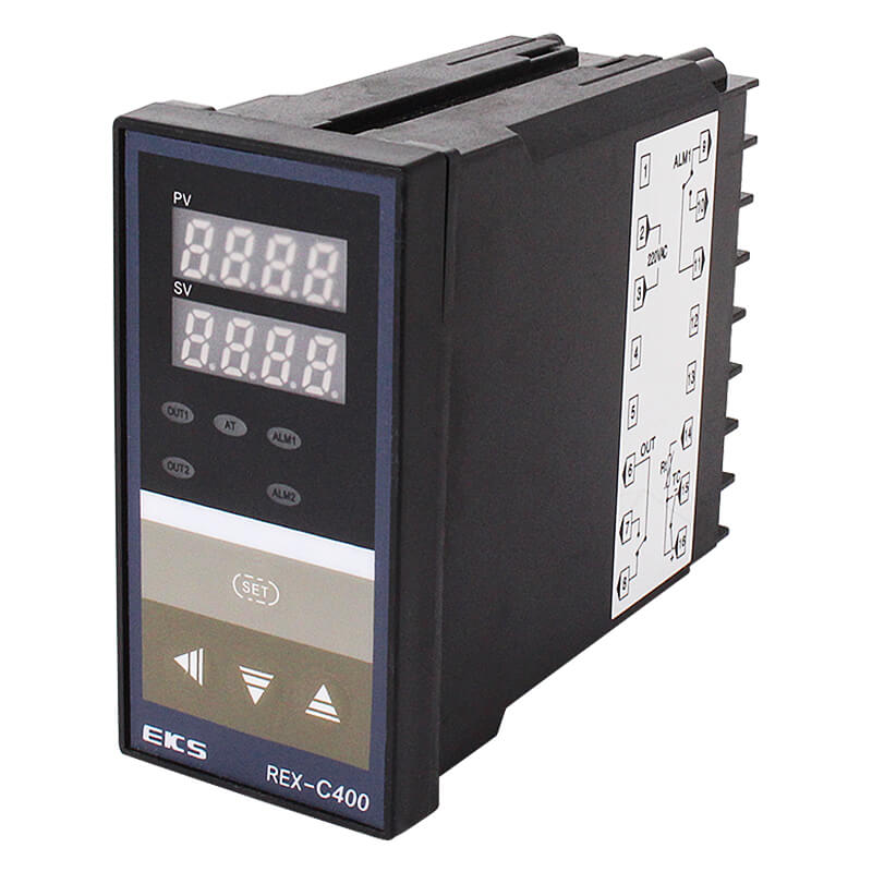 Europe style for Bakery Oven Temperature Controller - REX-C400 Digital Display PID Intelligent Temperature Controller – Taiquan Electric