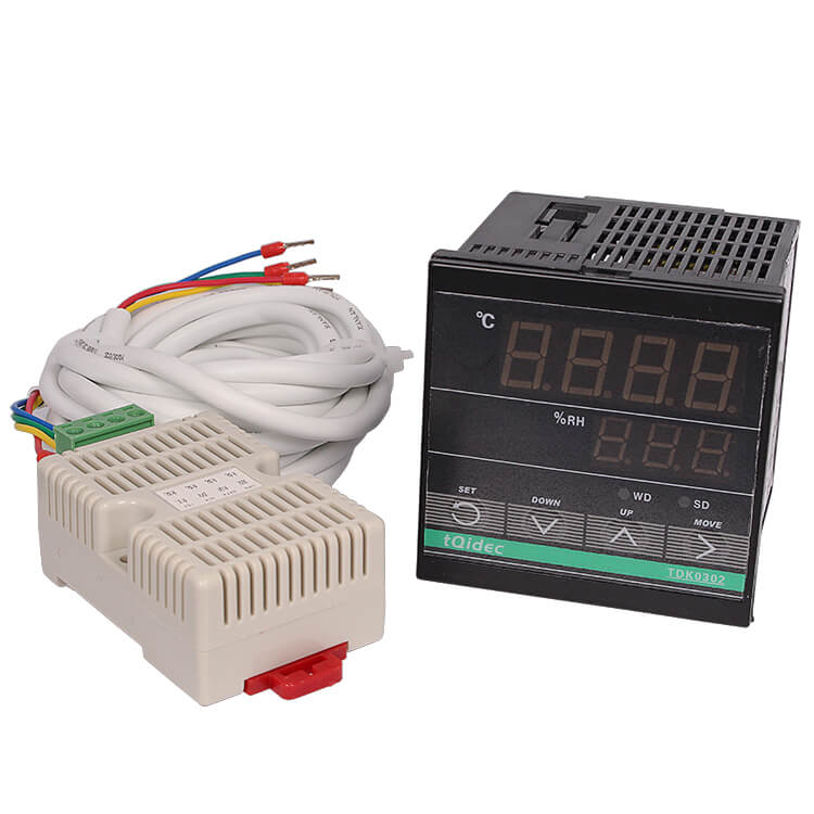 China OEM Weekly Programmable Time Switch - TDK-0302 Digital Display Electronic Temperature and Humidity Controller – Taiquan Electric