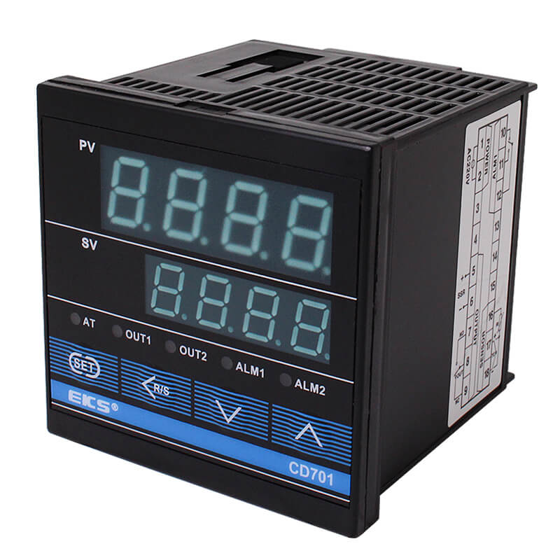 100% Original Factory Touch Screen 16a Wifi Thermostat - CD701 Digital Display PID Intelligent Temperature Controller – Taiquan Electric