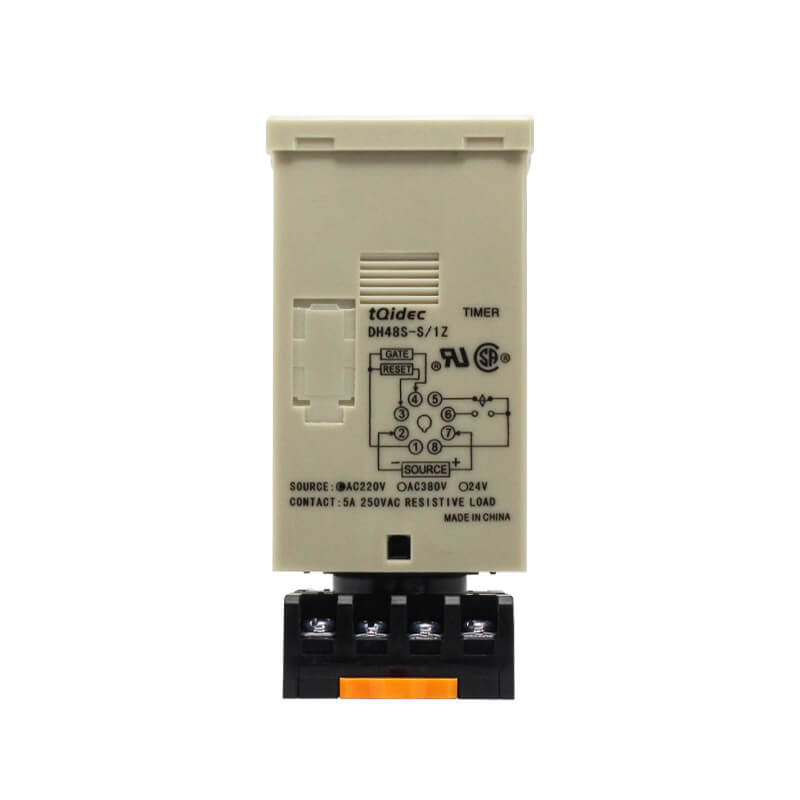 Free sample for Temperature And Humidity Control Instruments - DH48S-1Z Digital Display Delay Time Relay – Taiquan Electric