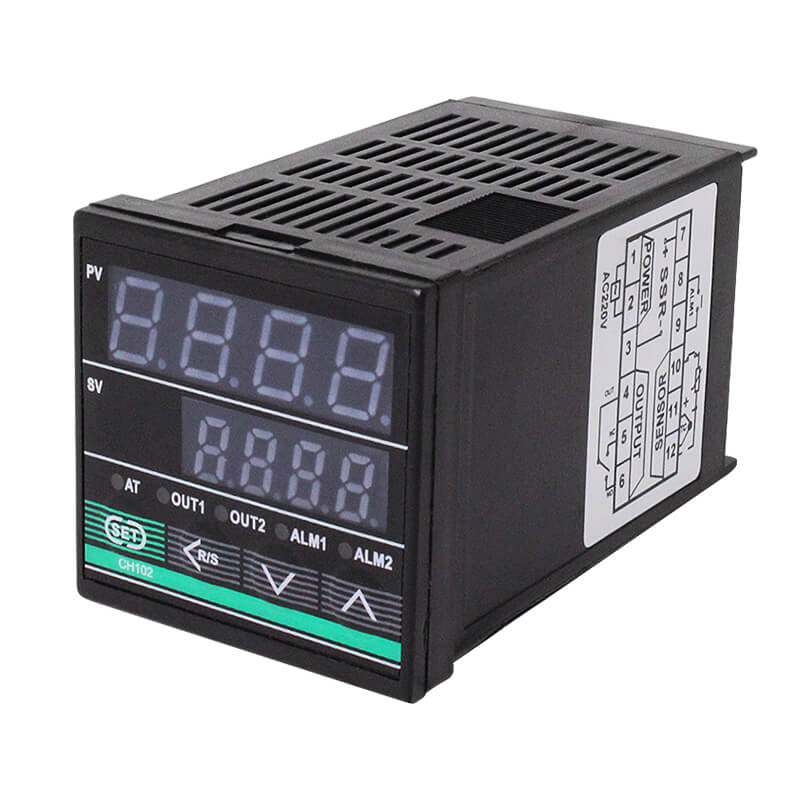 Competitive Price for Digital Temperature And Humidity Controller - CH102 Digital Display PID Intelligent Temperature Controller – Taiquan Electric