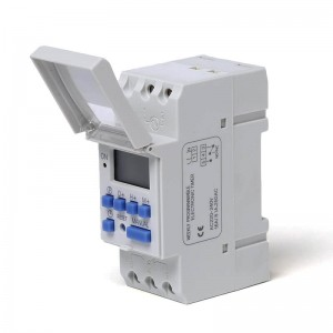 THC-15A DIN Rail Digital Weekly Programmable Timer