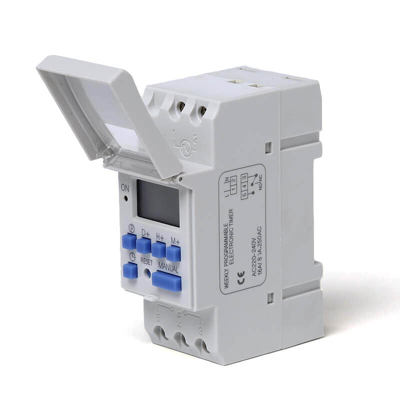 Trending Products Din Rail Time Relay - THC-15A DIN Rail Digital Weekly Programmable Timer – Taiquan Electric