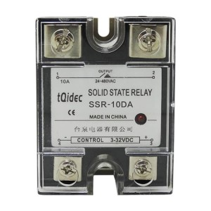 Manufacturer of Temperature Controller Meter - SSR-10DA Single Phase AC Solid State Relay – Taiquan Electric