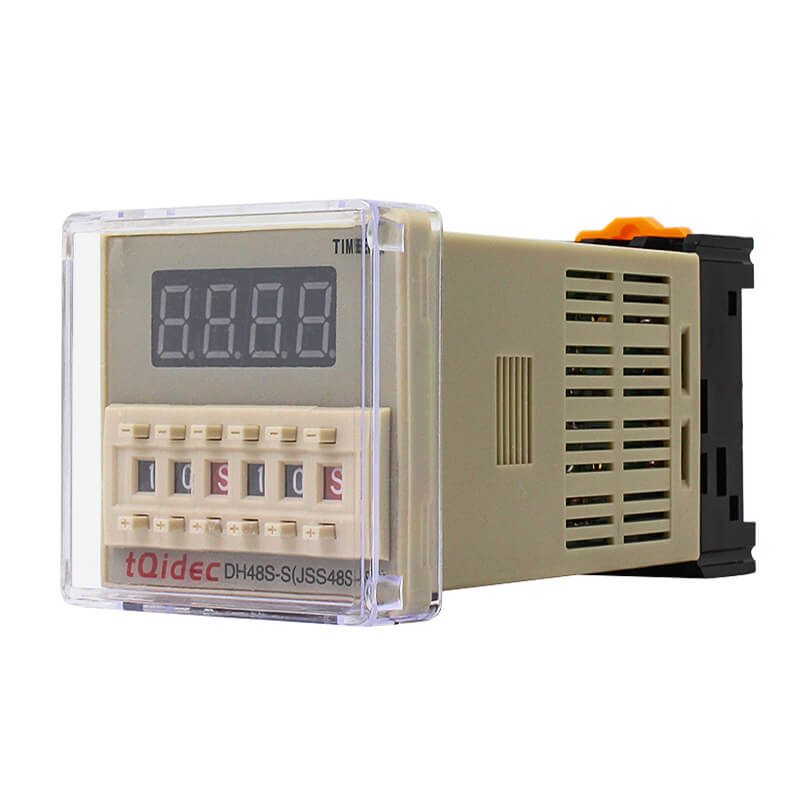 New Fashion Design for Digital Pid Temperature Regulator - DH48S-S Digital Display Delay Time Relay – Taiquan Electric Featured Image