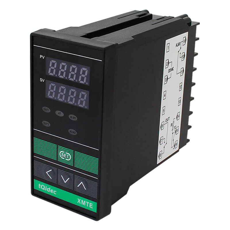 Factory source Mounting Solid State Relays - XMTE-8000 Intelligent Temperature Regulator – Taiquan Electric